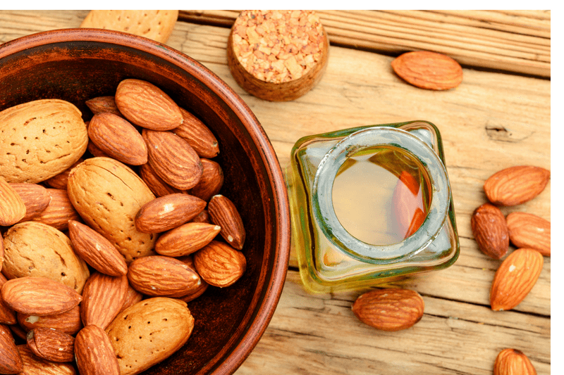 Almond Oil & Almonds