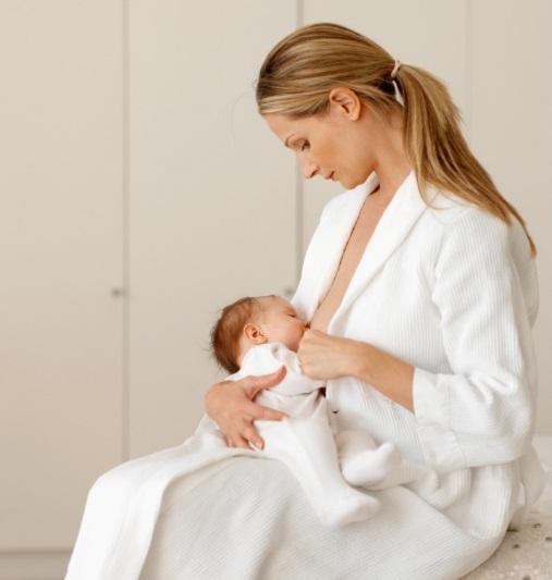 Breastfeeding posture