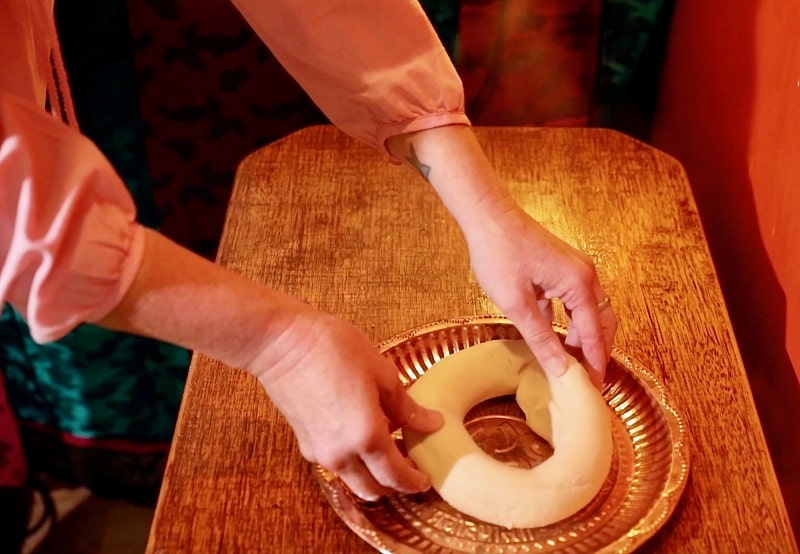 Making Flour Ring